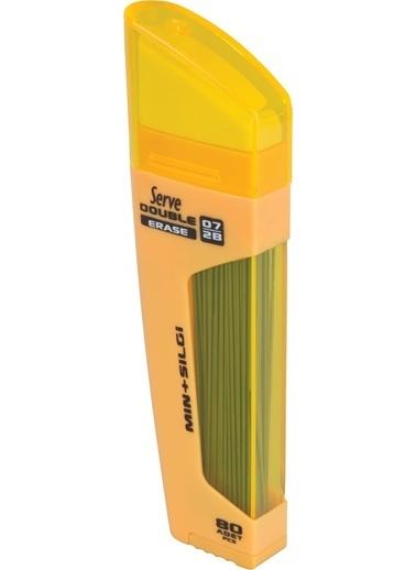 Serve Dble Mek Kur Klm Ucu-Slg 07Mm Hardal Sarısı Renkli